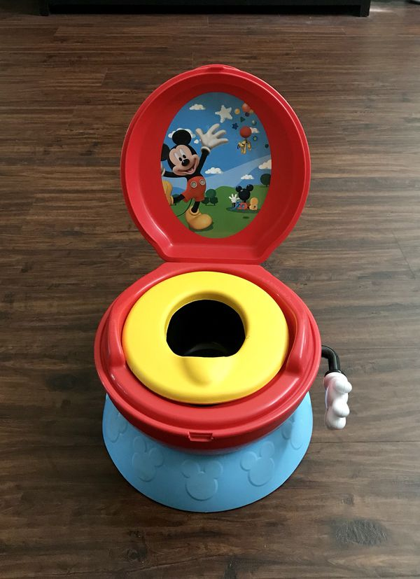 Fabulous Disney Mickey Mouse 3 In 1 Potty Chair Step Stool Mickey Mouse Says Hip Hip Hooray For Sale In Longwood Fl Offerup Gmtry Best Dining Table And Chair Ideas Images Gmtryco