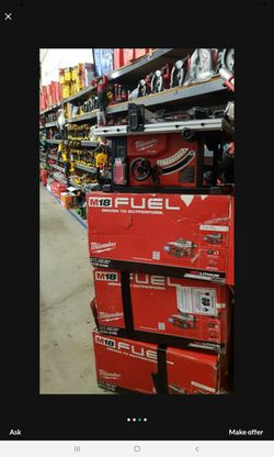 MILWAUKEE M18 FUEL BRUSHLESS 8-1/4 TABLE SAW TOOL ONLY BRAND NEW Thumbnail