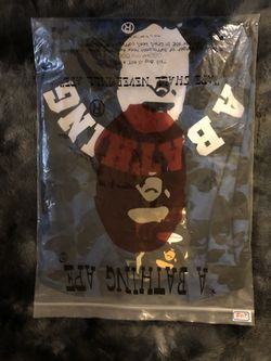 A BATHING APE BLUE CAMO Thumbnail