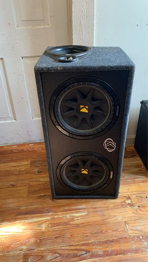 Photo Kicker Comp 12' inch subwoofers