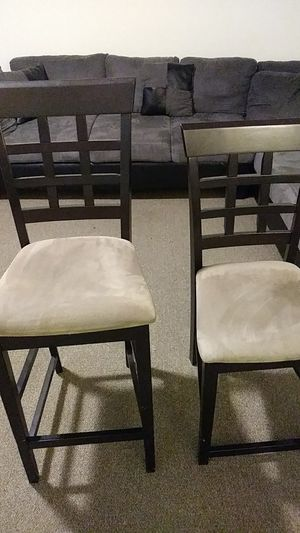 Brown/ Tan Table chairs for Sale in Washington, DC