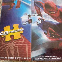 Amazing Puzzle 3 Ft X 2 Ft. Spider-man Thumbnail