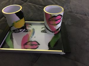 makeup tray lipstick holders brush holder sonia kashuk for Sale in Annandale, VA