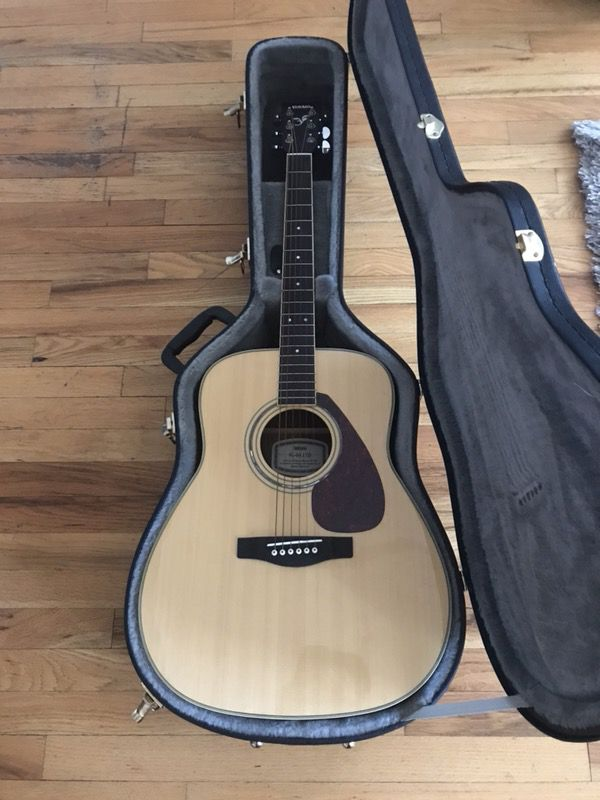 Yamaha Fg 04 Ltd Acoustic Guitar In Light Brown For Sale In Chicago