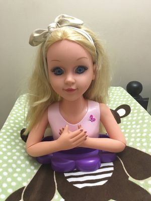 Barbie styling head for Sale in Olney, MD