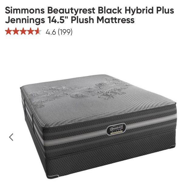 Simmons Beautyrest Black Hybrid Plus Jennings 14 5 Plush For In Miami Fl Offerup
