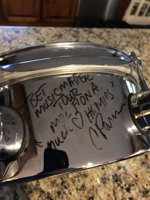 Signed drum 10 x 6.5 Pacific drum. for Sale in Gainesville, GA