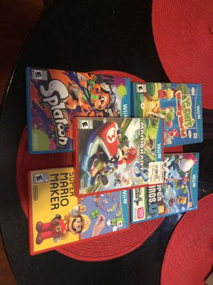 Nintendo Wii U with extra for Sale in Providence, RI