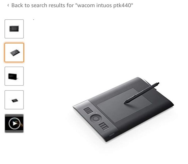 Wacom Intuos pkt 440 for Sale in US - OfferUp