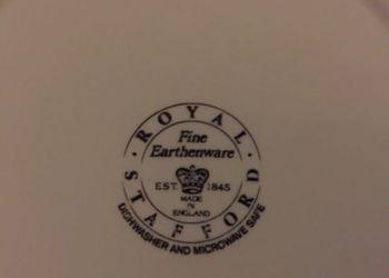 English Royal Stafford Earthenware Hayride plates Thumbnail