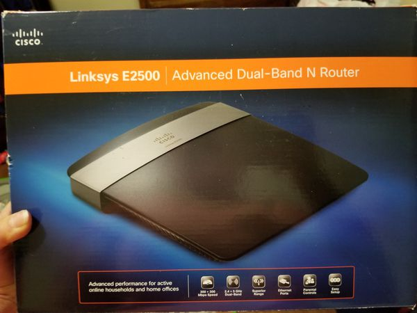 Linksys E2500 Advanced Dual- Band N Router for Sale in Houston, TX - OfferUp