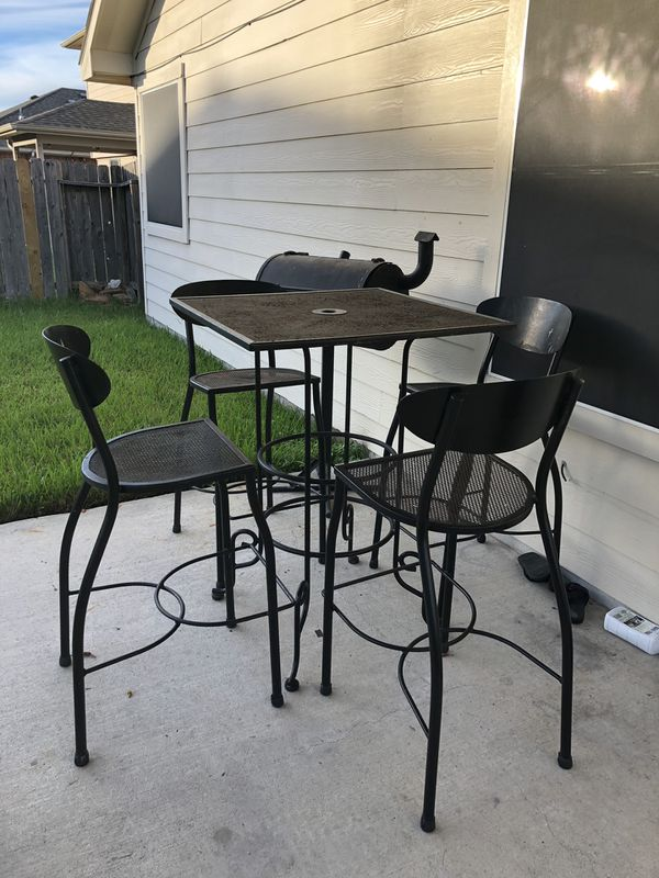 Metal Patio Furniture Set For Sale In Houston Tx Offerup