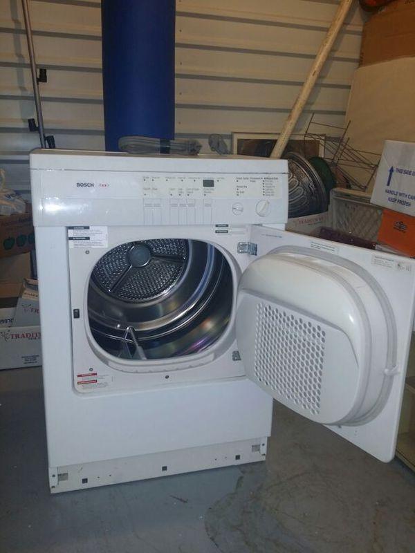 Electric Dryer Secadora Bosch Axxis Dryer Wta3510us