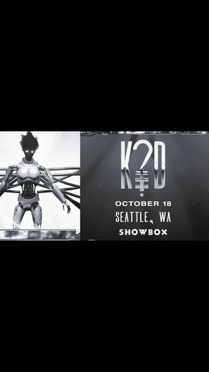 2 Tickets to K?D @ Showbox - Thursday, 10/18 ($30 each) for Sale in Seattle, WA