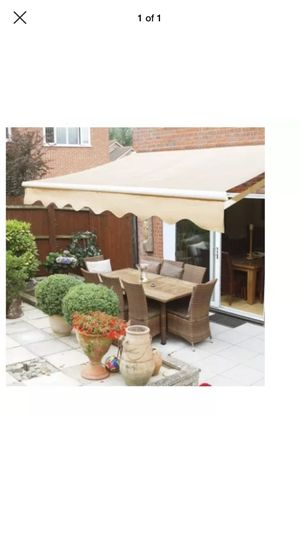NEW MANUAL RETRACTABLE PATIO AWNING!! for Sale in Gaithersburg, MD