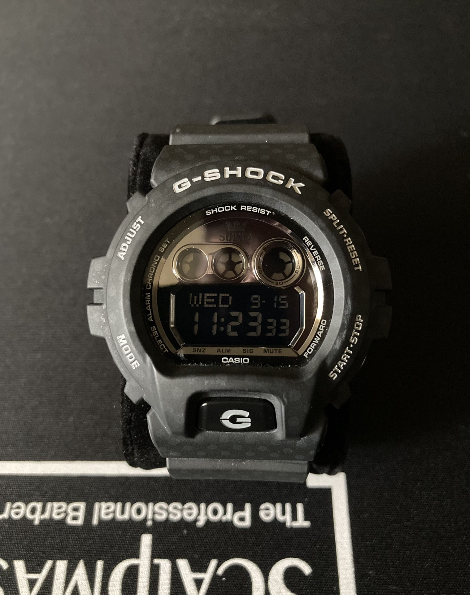 Casio G-Shock Limited Edition Supra