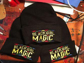 Black Girl Magic Beanies Thumbnail
