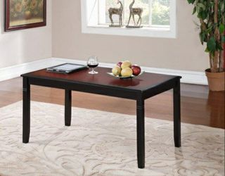 Camden Coffee Table, Black Cherry Finish, 18 inch Height Thumbnail
