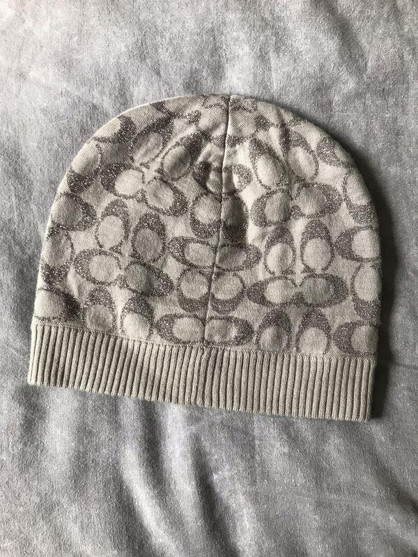 739216c37c487 Women s COACH Winter Hat Beanie for Sale in Nashua
