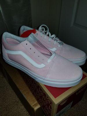Pink Old Skool Vans size 7 for Sale in Upper Marlboro, MD