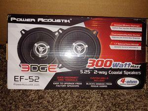 Photo New 5.25 Power Acoustik Coax Car Speakers