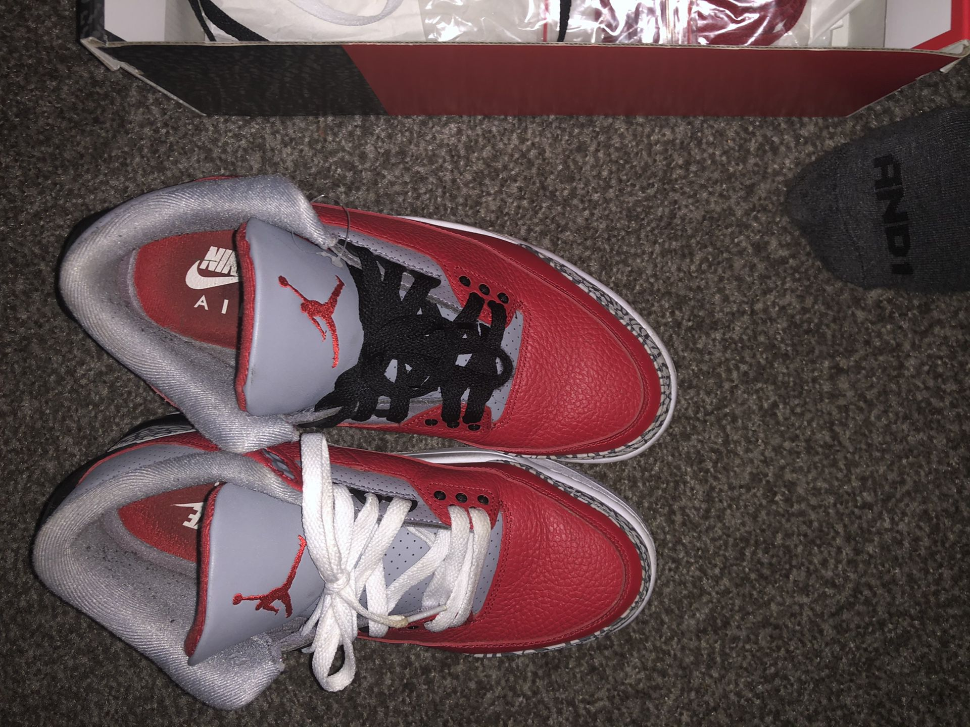 Red cements