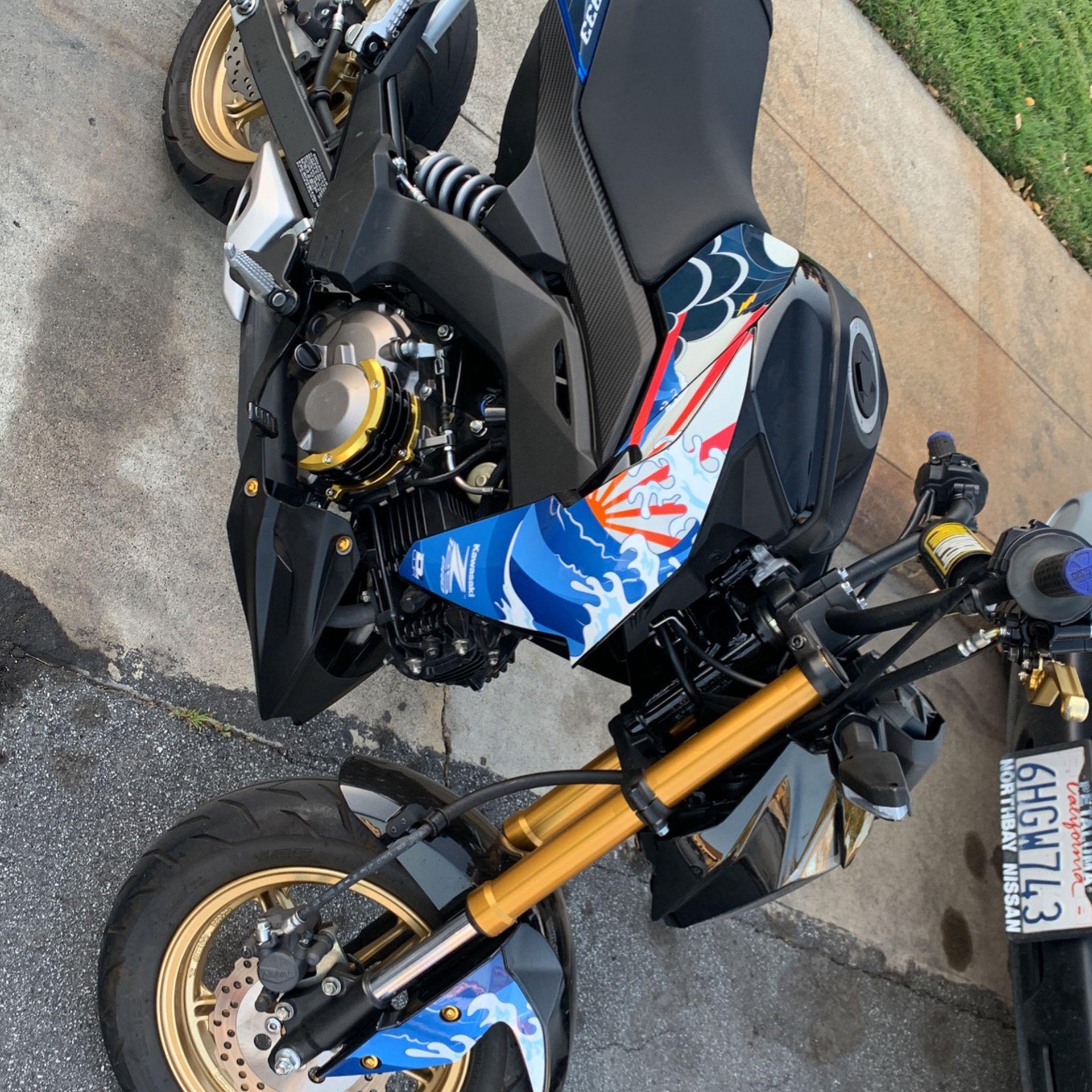 Kawasaki Z125 2018