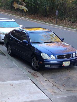 2000 Lexus GS en perfectas conditions este carro es de mi hija eya lo a tenido por 5 año Hoy lo está viendo por que ya compro otro carro un carr for Sale in Gaithersburg, MD
