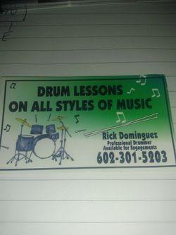 Drums lessons Thumbnail