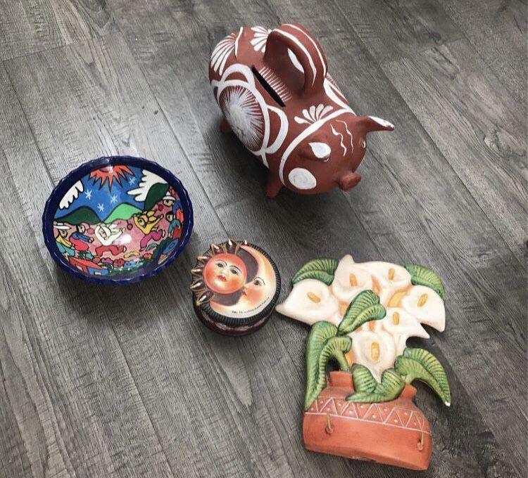 Clay Decor From Mexico