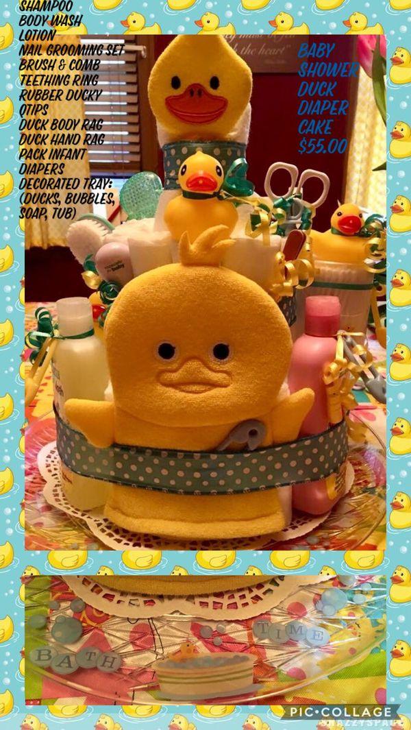 Baby Shower Duck Diaper Cake for Sale in Philadelphia, PA - OfferUp