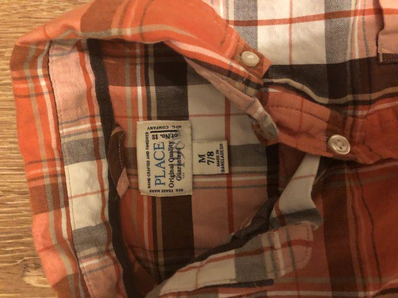 Children's place size 7/8 boys shirt
