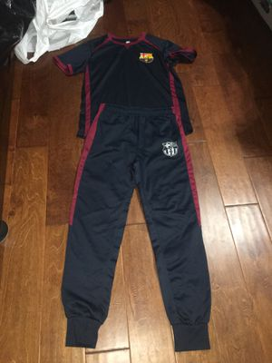 FC Barcelona Fan Shirt and Pants for Sale in Alexandria, VA