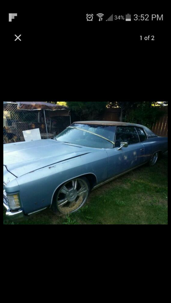 Chevrolet Caprice 19721 2 doors for Sale in Puyallup, WA - OfferUp