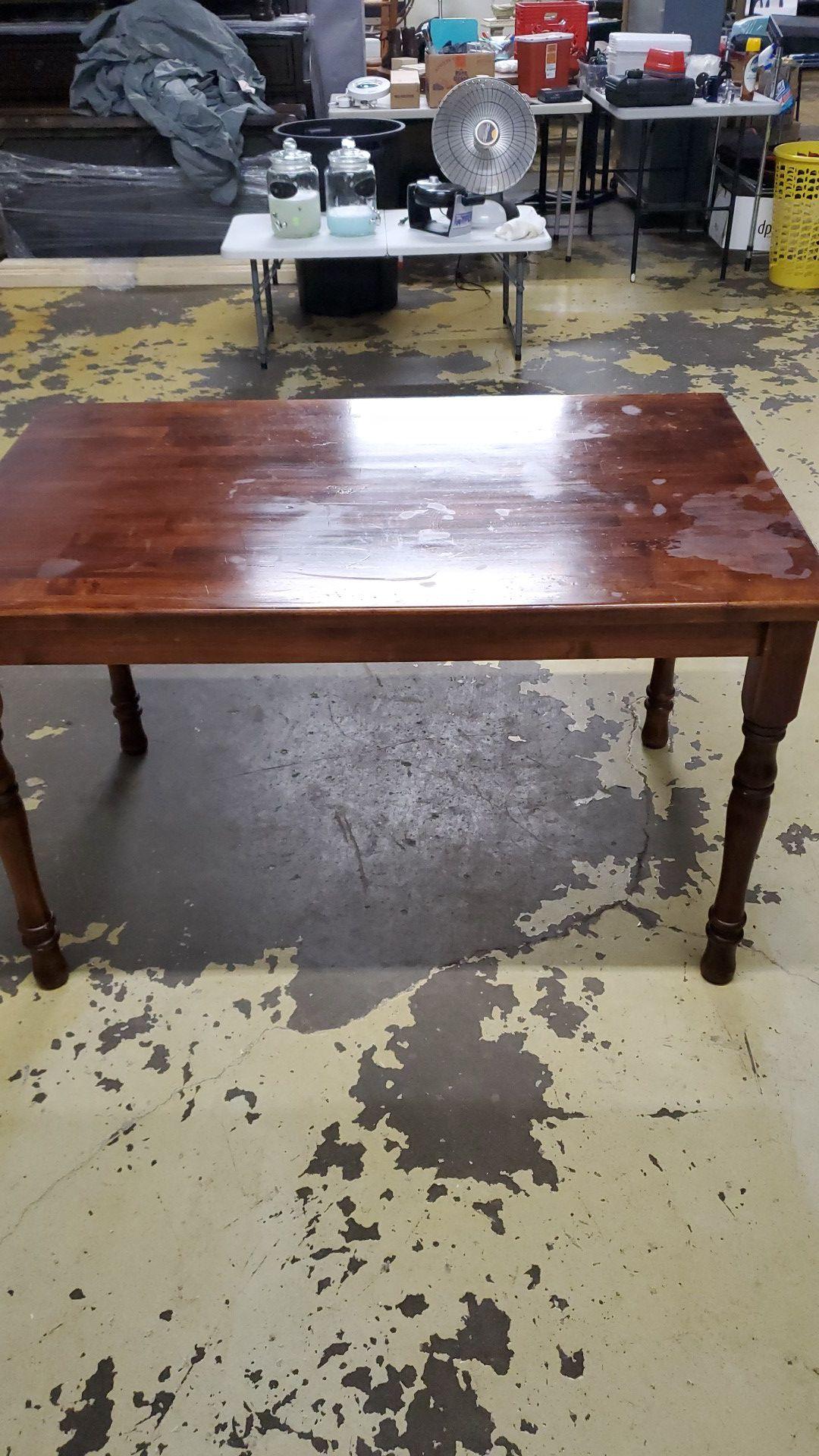 Cherrywood office Desk / w Small drawer