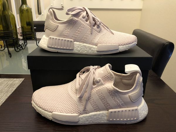 096f7e1aced9d Women s ADIDAS NMD R1 B37652 Orchid Tint   Orchid Tint   Cloud White Size 8  Shoes New w  Box
