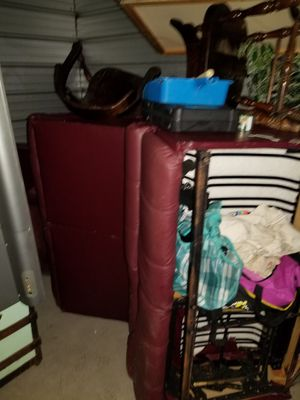 Free wrap around Italian leather couch for Sale in Baltimore, MD