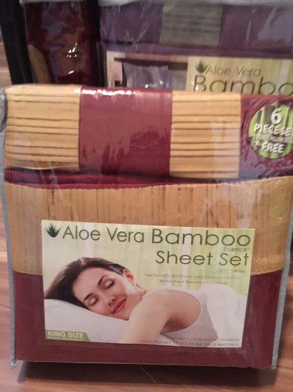 Aloe Vera Bamboo Sheet Set For Sale In Orlando Fl Offerup