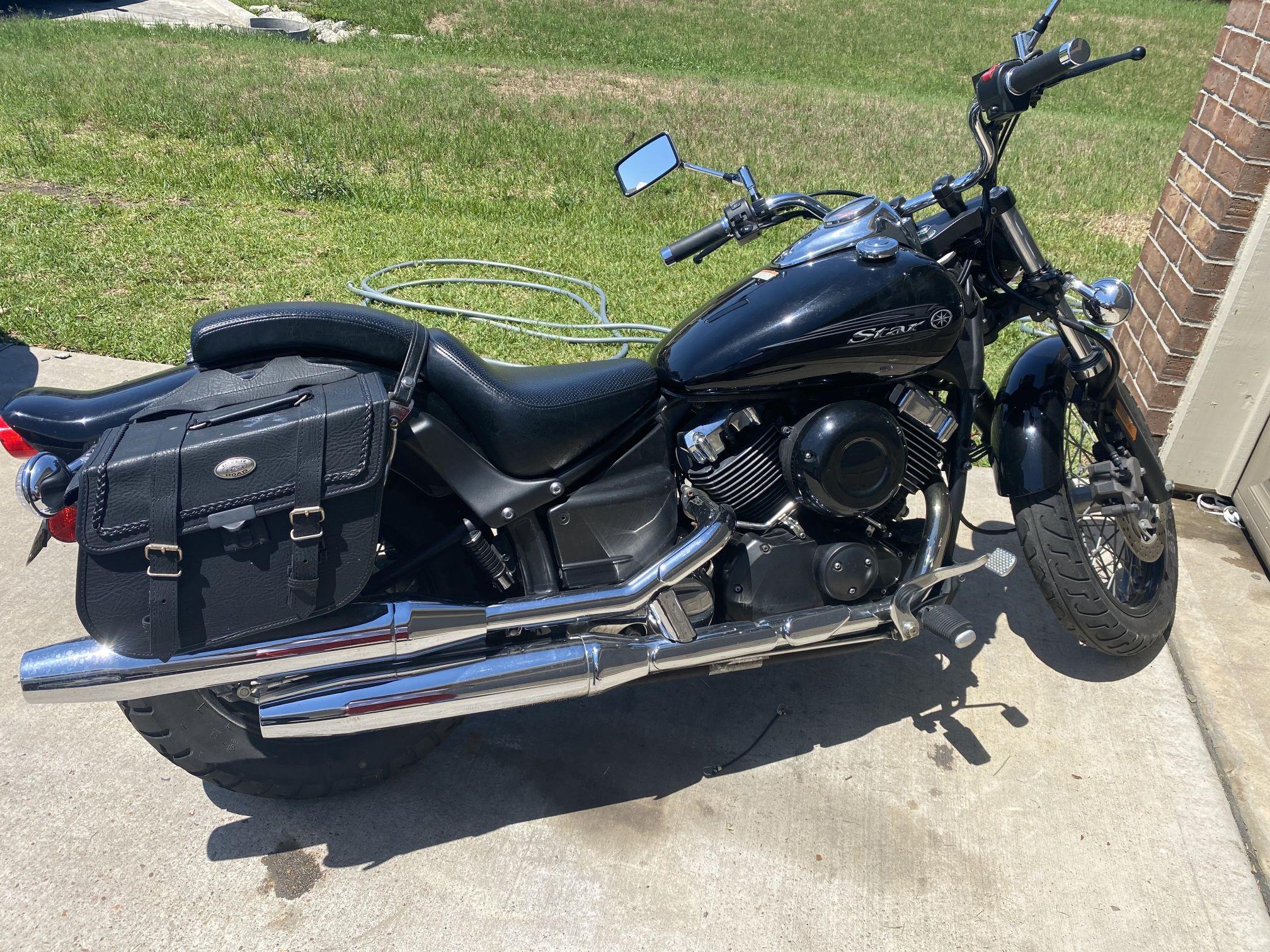 Photo 2009 V star midnight custom Yamaha star XVS650