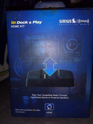XM Dock & Play Home Kit - Model XADH1 for Sale in Dover, NJ