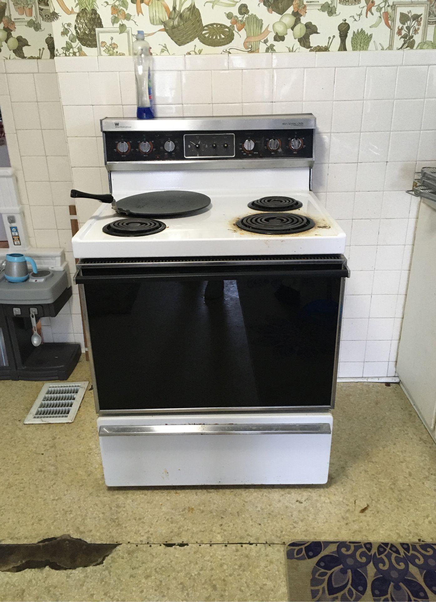 Vintage electric stove