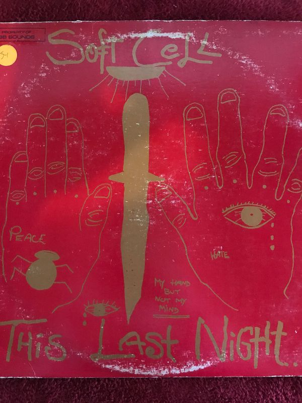 Soft Cell This Last Night In Sodom Vinyl Lp Record 1984