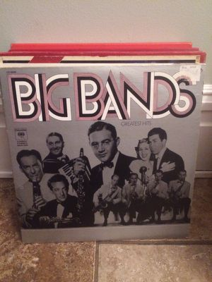 Big Bands Greatest Hits 2 record set for Sale in St. Louis, MO