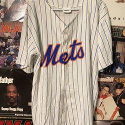 Vintage New York Mets Baseball Jersey Thumbnail