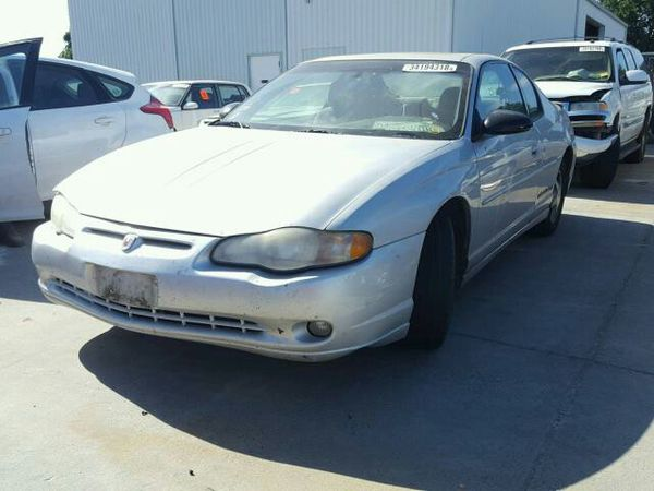 2003 Chevrolet Monte Carlo Ss Parting Out Call Today For Sale In