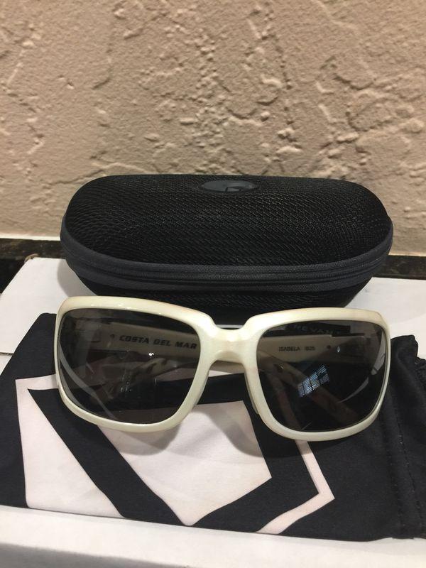 e93bbf01e055 Costa Del Mar Isabela IB25 Sunglasses-Pearl White Frame for Sale in ...