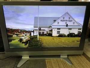 """Panasonic tv 50"""" plasma full hd with HDMI with remote for Sale in Centreville, VA"""