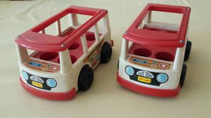 Vintage Fisher Price Toy Buses for Sale in Tacoma, WA