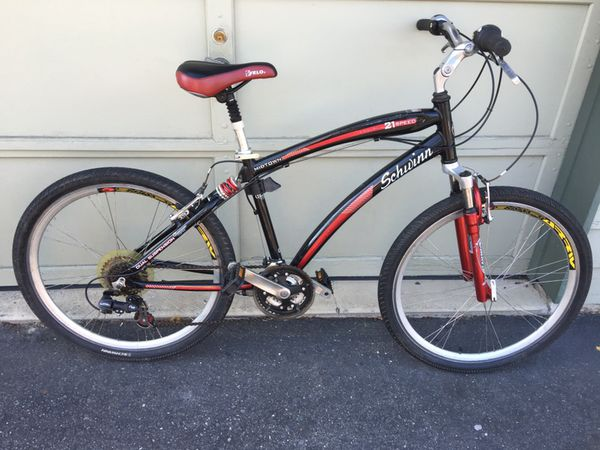 33debbb08e5 Schwinn Men's Midtown Bicycle (Black and Red) for Sale in Lynnwood ...