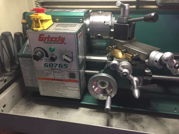 Metal Lathe For Sale >> Grizzly Metal Lathe For Sale In Whittier Ca Offerup